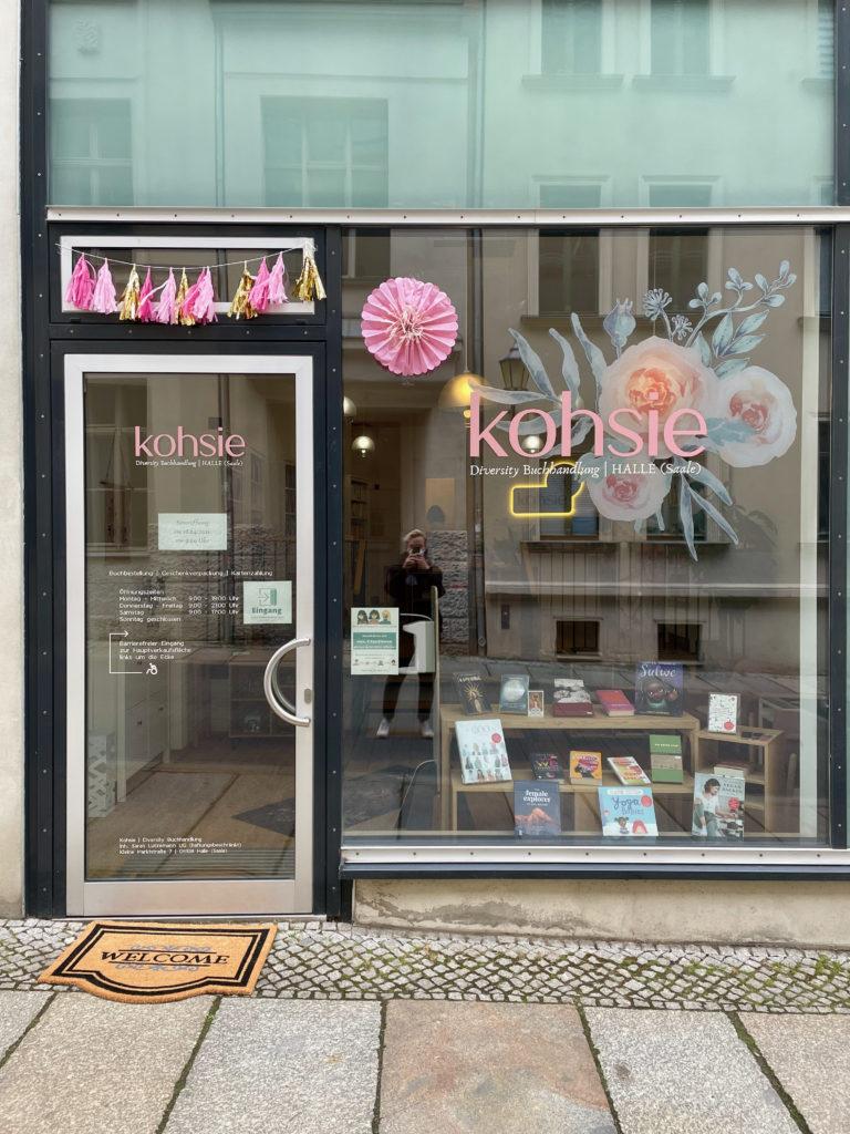 Diversity-Buchhandlung Kohsie in Halle (Saale)