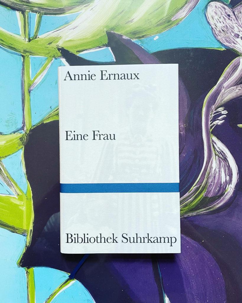 Annie Ernaux »Eine Frau« Cover